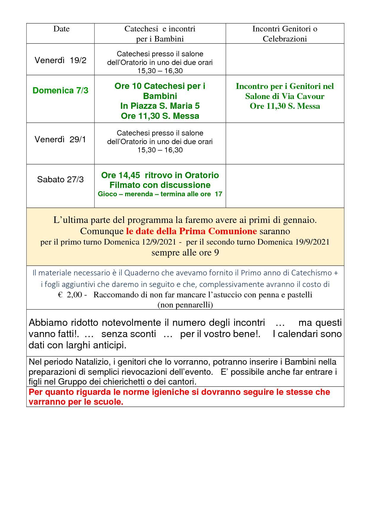Oratorio - Catechismo Ott 20 (05)