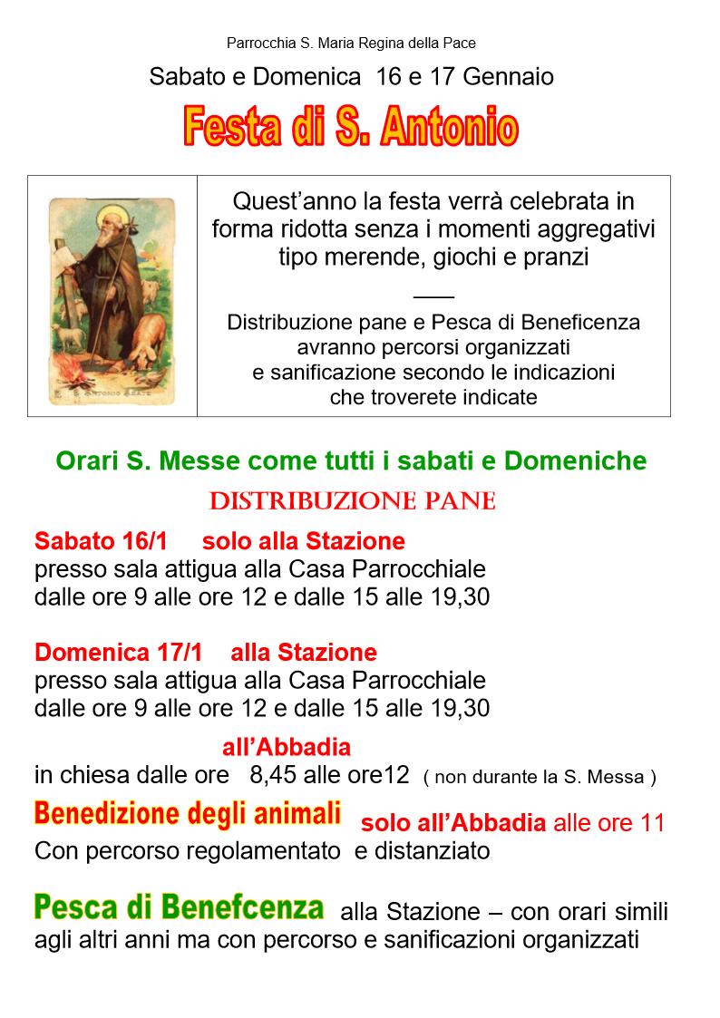 Festa S .Antonio 2021